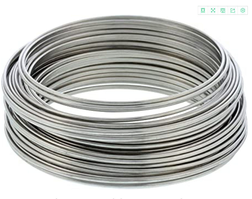 Custom Made 316 Stainless Steel Spring Wire Bright Surface S-Co Soap Coated